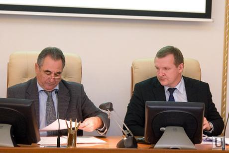Совещание у Губернатора здание правительства области Курган