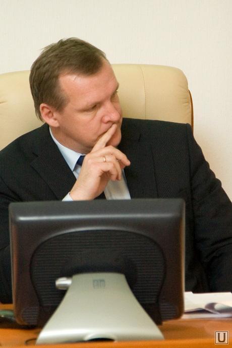Совещание у Губернатора здание правительства области Курган, первый заместитель губернатора, путмин сергей