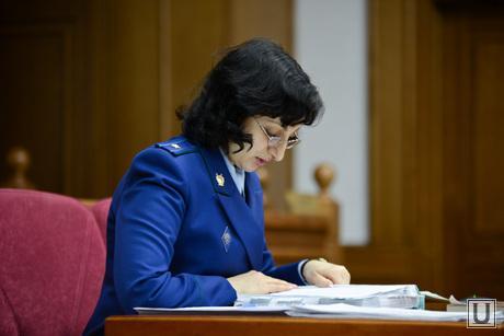 Первое заседание Областного суда по делу Ермакова Александра. Екатеринбург, прокурор