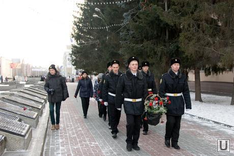 День Героев Отечества Алея славы Курган