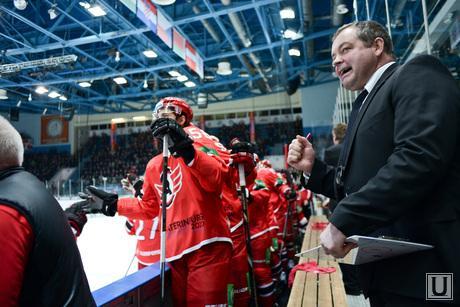 Хоккейный матч Автомобилист - Амур. 5:1. Екатеринбург