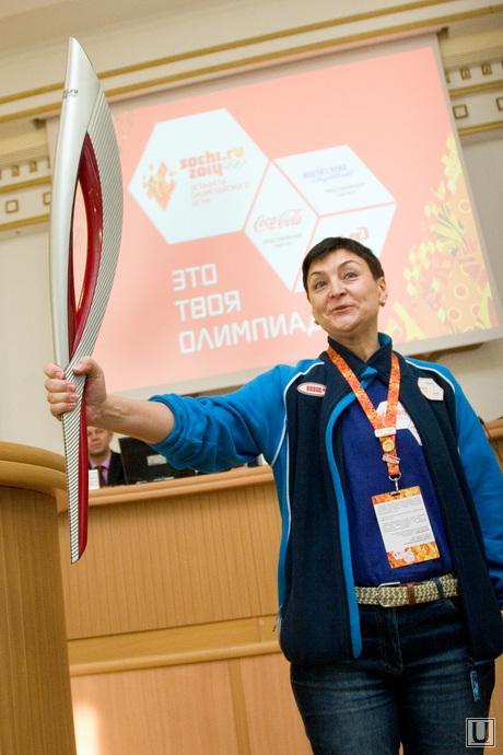 Пред-Эстафетная пресс-конференция Правительство области Курган, атанасова татьяна, менеджер эстафеты олимп огня