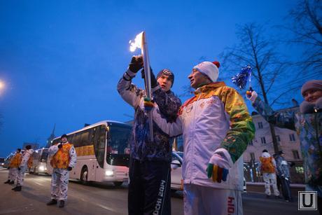 Эстафета олимпийского огня. Начало. Екатеринбург.