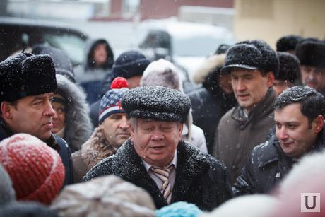 Объезд проблемных объектов строительства. Куйвашев и Хинштейн. Екатеринбург