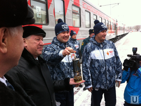 Олимпийский факел Магнитогорск