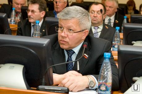 Заседание Областной Думы здание правительства области Курган, казаков владимир