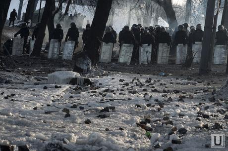 Евромайдан. Киев. Украина, беспорядки, оцепление