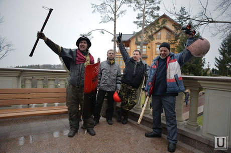 Дом Януковича в Межгорье захвачен. Украина.