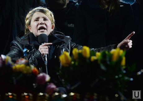 Юлия Тимошенко на Майдане. Киев. Украина, тимошенко юлия, украина