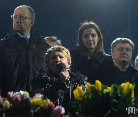 Юлия Тимошенко на Майдане. Киев. Украина, тимошенко юлия, украина, лидеры оппозиции, яценюк, порошенко