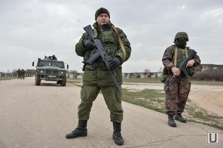 Безоружные украинские военные встретились с Российскими. Переговоры.Севастополь. Аэропорт Бельбек, армия, военные, солдаты