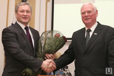 Заседание Правительства области Курган, кокорин алексей, жаров василий