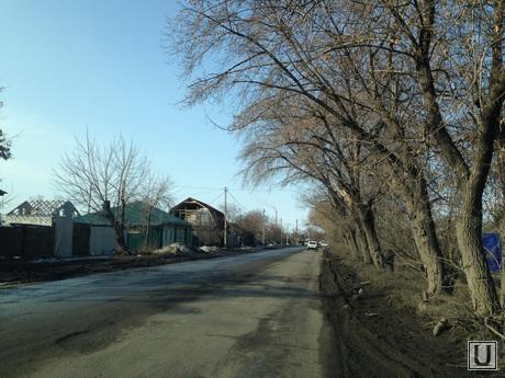 Ремонт дорог Курган. 2014 год , улица бажова