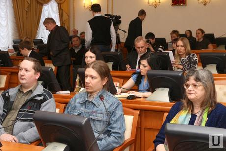 Встреча Кокорина с представителями политических партий Курган