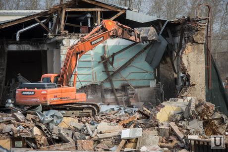 Разрушение здания стадиона