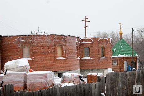 Богоявленский храм Курган, строительство храма