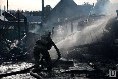 Пожар в деревне Броды Пермского района Пермского края 2 июня 2014, пожар