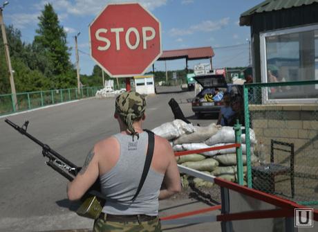 Луганск КПП в руках ЛНР