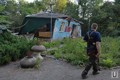 База ЛНР после авиа обстрела