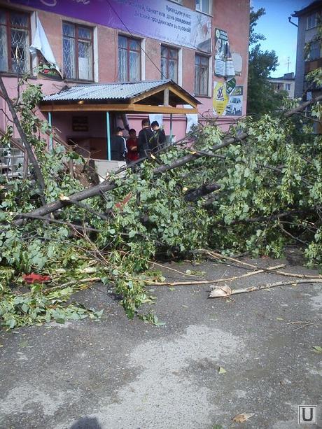 Ураган в Асбесте