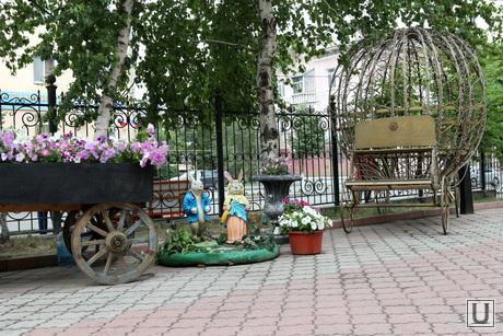 Местные достопримечательности  Курган, драмтеатр
