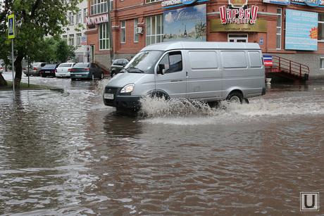 Затопленные улицы Курган, затопленная улица, улица комсомольская