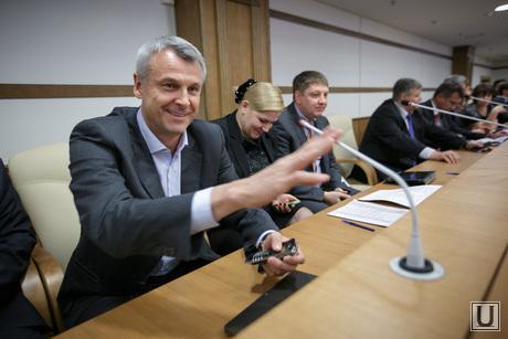 Согласительная комиссия по бюджету в ЗакСо. Ройзман, Носов, Паслер и др. Екатеринбург, заксобрание, носов сергей