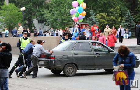 День металлурга. Мечел. Металлургический район. Челябинск.