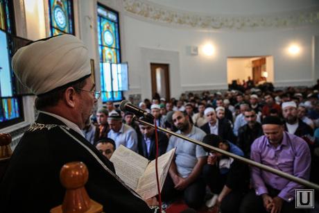 мусльманский праздник Ураза-байрам. Сургут, мечеть, мусульмане