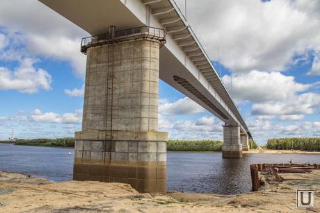 Мост через Вах. Излучинск. , мост через вах