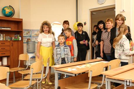 Беженцы в 38 школе. Сургут