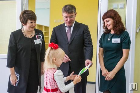Якушев открывает детский сад Петрушка. Тюмень