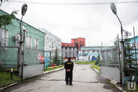 Проходная Уральского шинного завода. Екатеринбург, кпп, уральский шинный завод