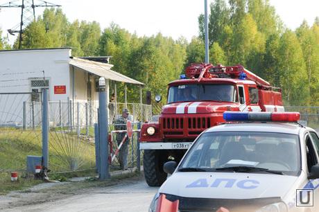 Арсенал. Карабаш. Челябинская область., пожарная машина, кпп, войсковая часть
