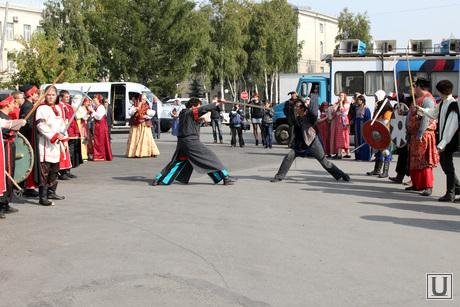 Праздник памяти святого благоверного князя Александра Невского Курган, праздник александра невского, театрализованное представление