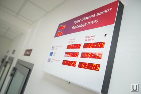 Курсы валют. Екатеринбург, курсы обмена валют