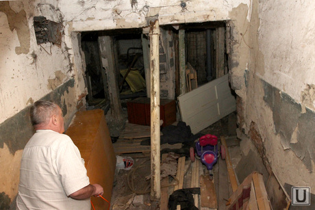 Аварийный дом Курган, подвал, аварийный дом