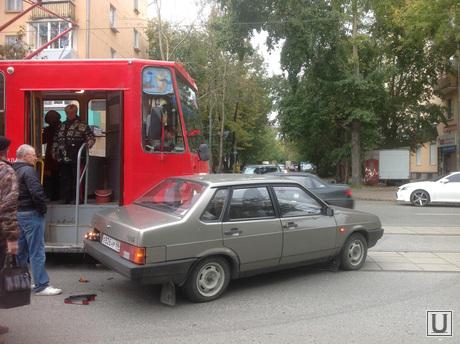 ДТП с трамваем