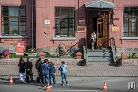 На Карла Либкнехта снимают кино. Екатеринбург