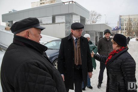 Павел Креков осматривает ТЮЗ. Екатеринбург, креков павел, сафронов михаил