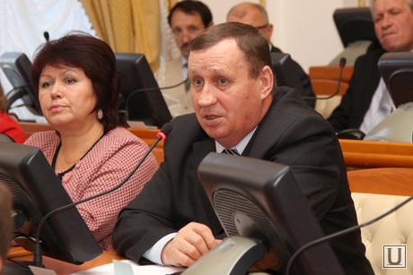 Публичные слушания проекта областного бюджета Курган, остапенко владимир