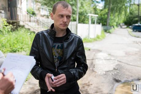 Ползунова, 17 - место, где Руслан Аптуков сбил маленькую Надю Котугину. Екатеринбург, лунев николай