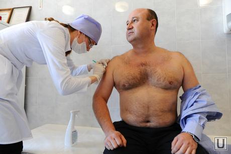 Прививки от гриппа кабмин. Челябинск., голицын евгений, укол