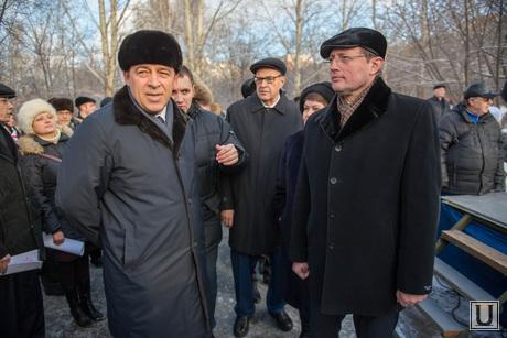 Открытие памятника детям-труженикам тыла. Екатеринбург, куйвашев евгений