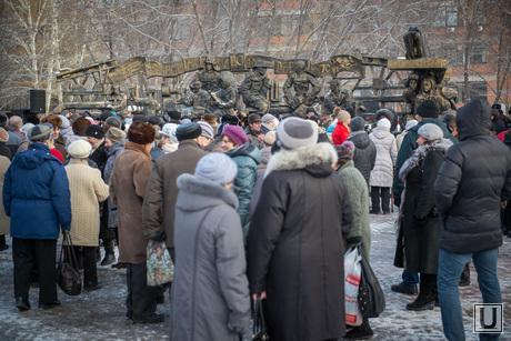 Открытие памятника детям-труженикам тыла. Екатеринбург