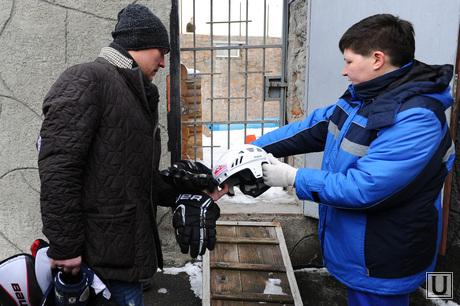 Хоккеист в зоопарке. Челябинск., зоопарк, панов константин