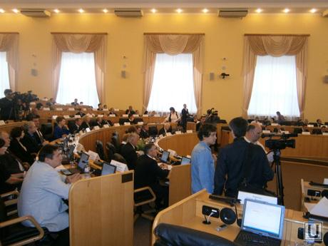 Тюменская областная дума, 25 сентября. Первое заседание., тюменская областная дума