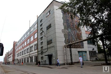 Курганский машиностроительный завод (КМЗ) , кмз, заводской корпус