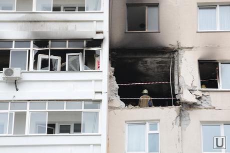 Последствия взрыва бытового газа в многоквартирном жилом доме в Перми на ул. Разина , многоэтажка, пожар, недвижимость, разрушение, взрыв газа