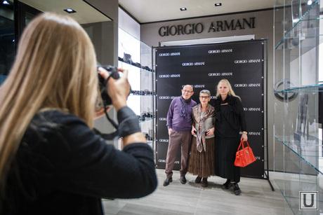 Открытие бутика Giorgio Armani в Покровском пассаже. Екатеринбург